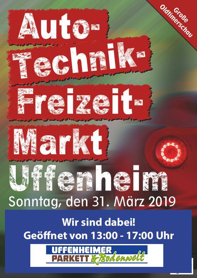 Auto-Technik-Freizeitmarkt Uffenheim! Wir sind auch 2019 wieder dabei.
